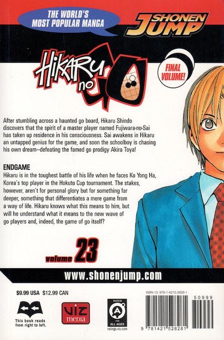 Hikaru no Go volume 23 - baksida