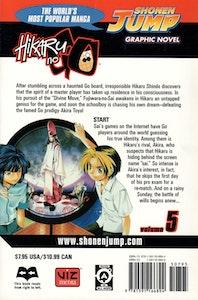 Hikaru no Go volume 5 - baksida