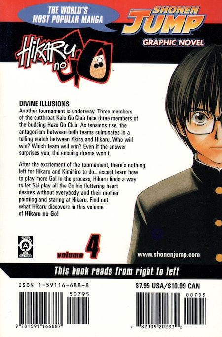 Hikaru no Go volume 4 - baksida