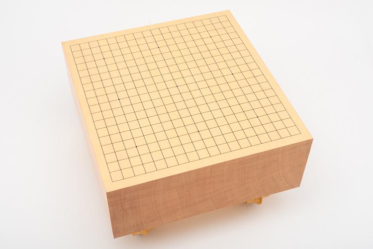 19x19-bräde i shinkayaträ, 16,6 cm tjockt