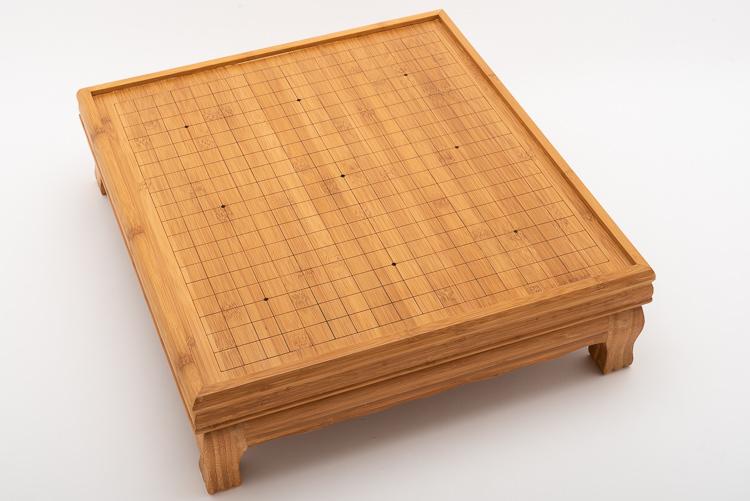 19x19-benbräde i bambu, kinesisk stil