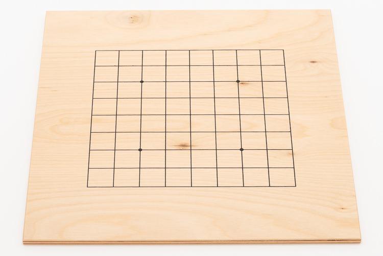13x13-bräde i plywood