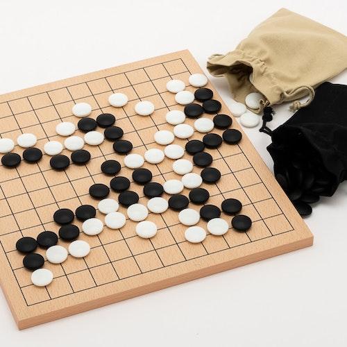 Prisvärt medium nybörjarpaket, Go-spel 13x13 och 9x9