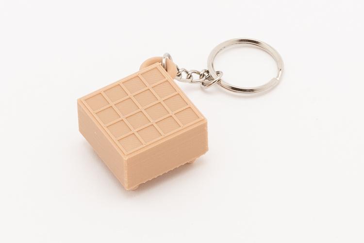 Nyckelring Go-bräde