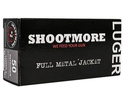 Shootmore 9x19 124gr FMJ