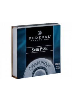 Federal Small Pistol #100