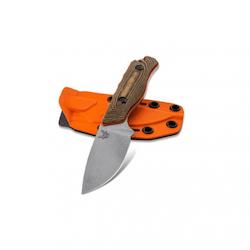Benchmade Hidden Canyon Hunter Richlite Handle