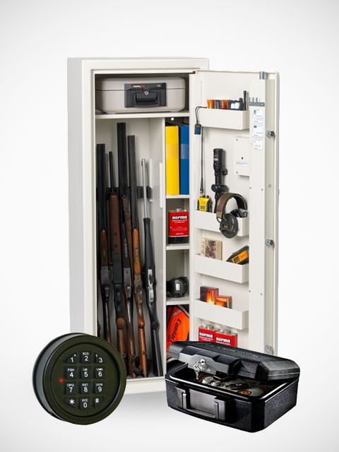 Profsafe S1500/425 Premium Kodlås+Brandbox