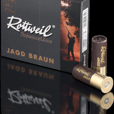Rottweil Jagd Braun 12/70 36g US3-US6