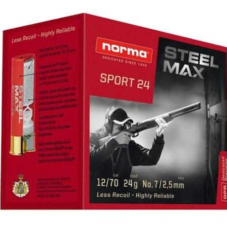 Norma Steel Max Sport 12/70 24g US7   REA!!!!