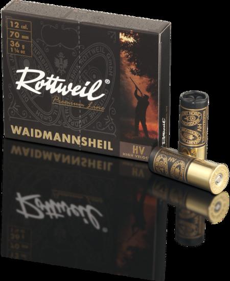 Rottweil Waidmannsheil HV 36g 12/70 Plast