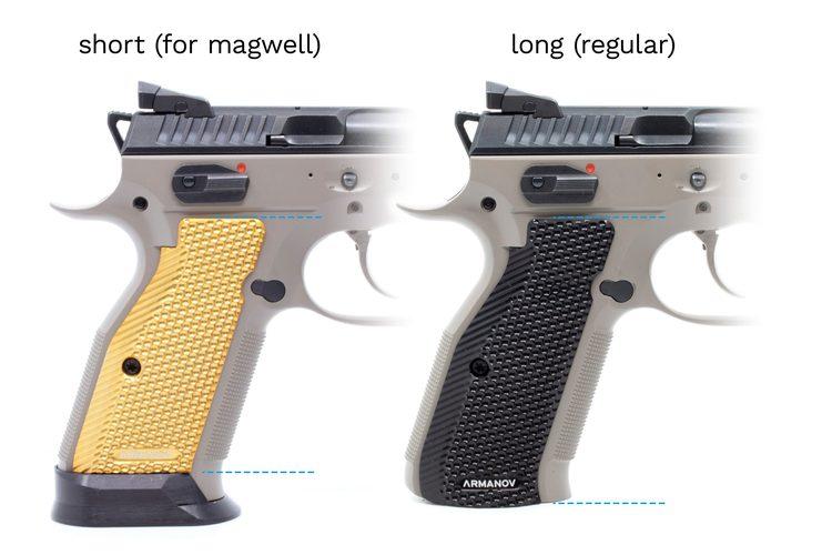 Armanov SpidErgo Gen2 Pistol Grips for CZ