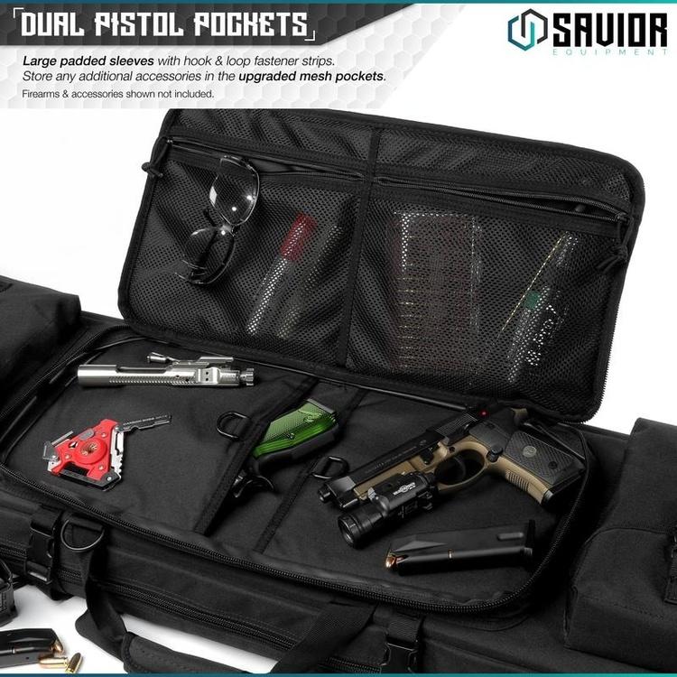 Savior Urban Warfare Double Rifle Case