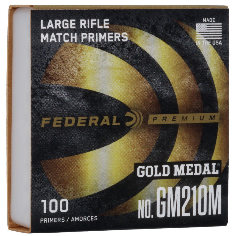 Federal Gold Medal Large Rifle #210