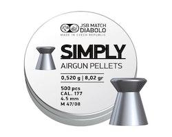 JSB Simply, 4,50mm - 0,520g