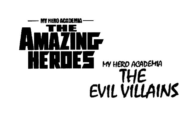 The Amazing Heroes / The Evil Villains - Enami