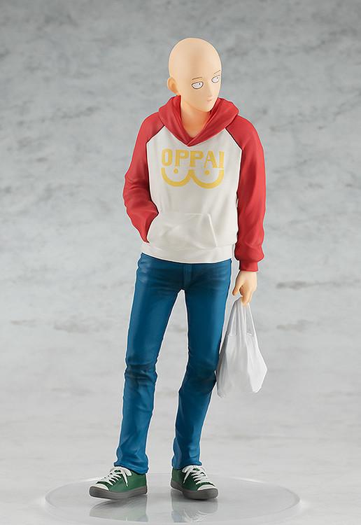POP UP PARADE Figure 011 Saitama: OPPAI Hoodie Ver. (One Punch Man)