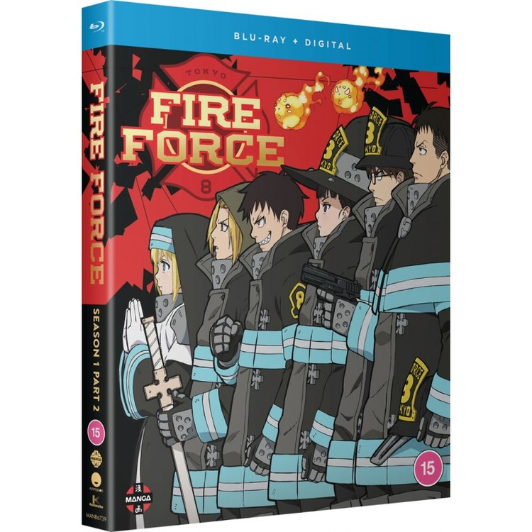 Fire Force - Season One Part Two Blu-Ray