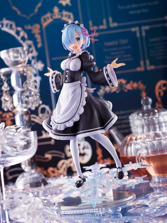 Re:Zero AMP Figure Rem Winter Maid Image Ver. (Taito)