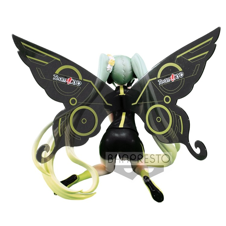Vocaloid Racing Figure Hatsune Miku  Racing 2017 Team Ukyo Cheering Version (Banpresto)