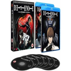 Death Note Complete Series & OVA Collector's Edition Blu-Ray