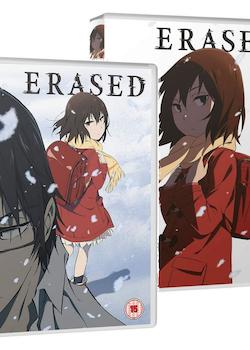ERASED Part 1 & Part 2 DVD