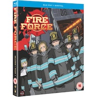 Fire Force - Season One Part One & Part Two Blu-Ray