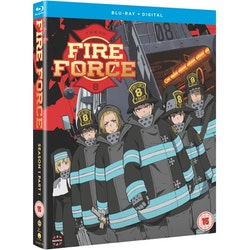 Fire Force - Season One Part One Blu-Ray