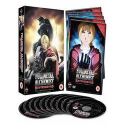 Fullmetal Alchemist: Brotherhood Complete Collection DVD