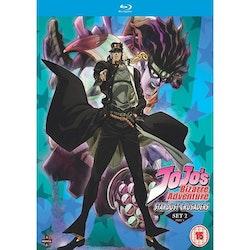 JoJo's Bizarre Adventure Set Two: Stardust Crusaders Part 1 Blu-Ray