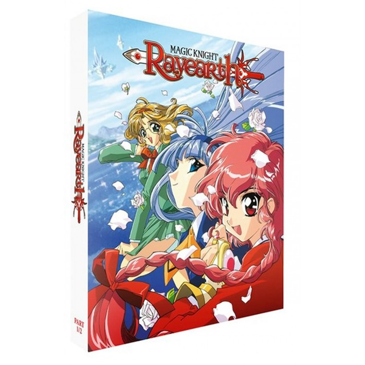 Magic Knight Rayearth Part 1 & Part 2 Collector's Edition Blu-Ray