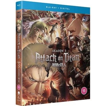 Attack on Titan Season 3 Collection Blu-Ray