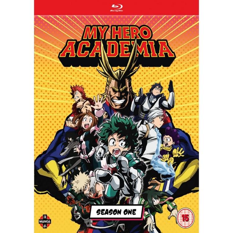 My Hero Academia Season 1 Blu-Ray