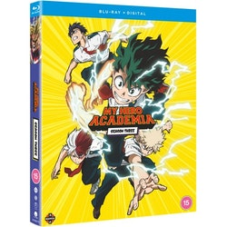 My Hero Academia Season 3 Blu-Ray