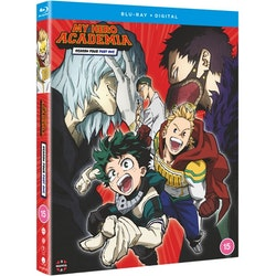 My Hero Academia Season 4 Part 1 Blu-Ray