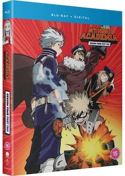 My Hero Academia Season 4 Part 2 Blu-Ray