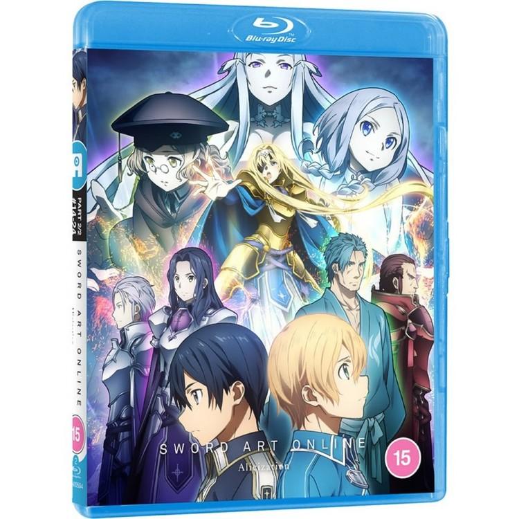 Sword Art Online Alicization Part 2 Blu-Ray