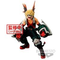 My Hero Academia Academy Super Master Stars Piece Figure Katsuki Bakugou The Anime (Banpresto)