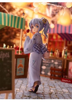 Is the Order a Rabbit 1/7 Figure Chino Summer Festival (Plum)