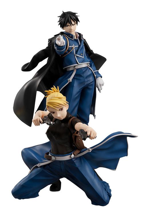 Fullmetal Alchemist G.E.M. Figures Roy Mustand and Riza Hawkeye (Megahouse)