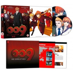 009 Re:Cyborg Collector's Edition Combi Blu-Ray / DVD
