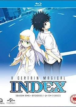 A Certain Magical Index Season 1 Collection Blu-Ray