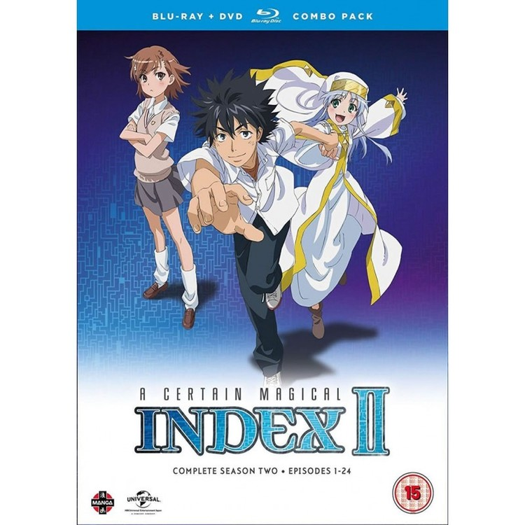 A Certain Magical Index Season 2 Collection Combi Blu-Ray / DVD