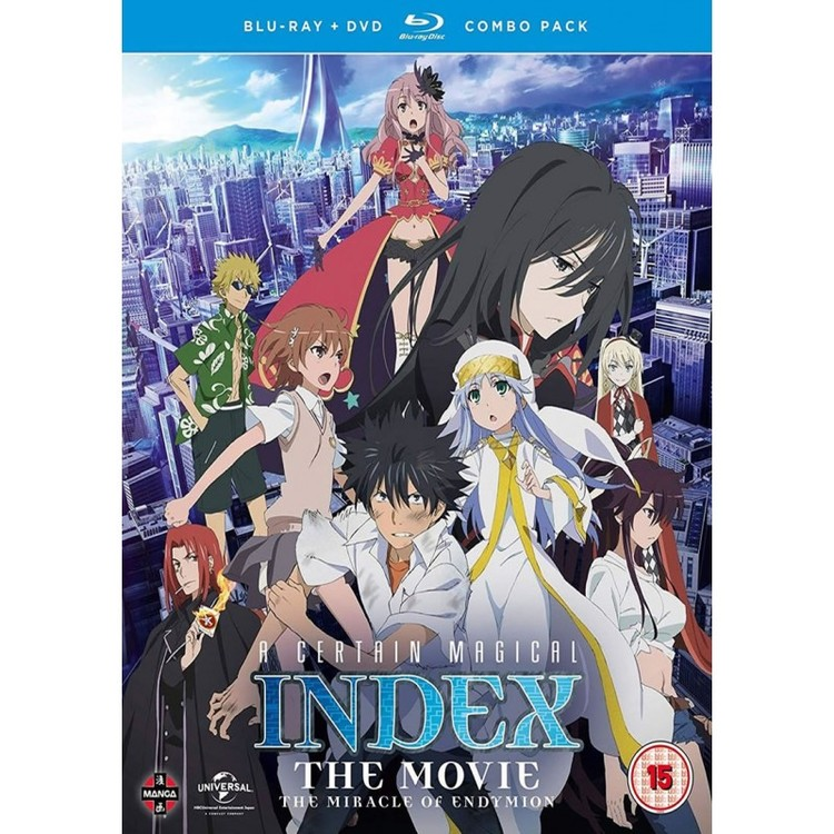 A Certain Magical Index: The Movie – The Miracle of Endymion Combi Blu-Ray / DVD