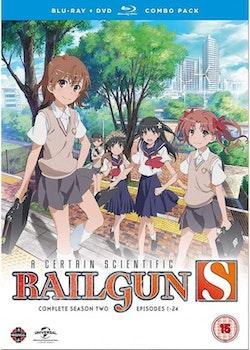 A Certain Scientific Railgun Season 2 Collection Combi Blu-Ray / DVD