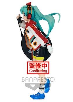 Hatsune Miku Racing Espresto est Prints & Texture Figure Racing Miku 2020 Team Ukyo (Banpresto)