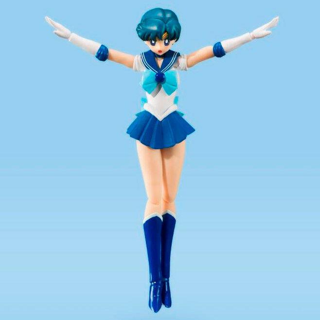 Sailor Moon S.H. Figuarts Action Figure Sailor Mercury Color Edition (Tamashii Nations)