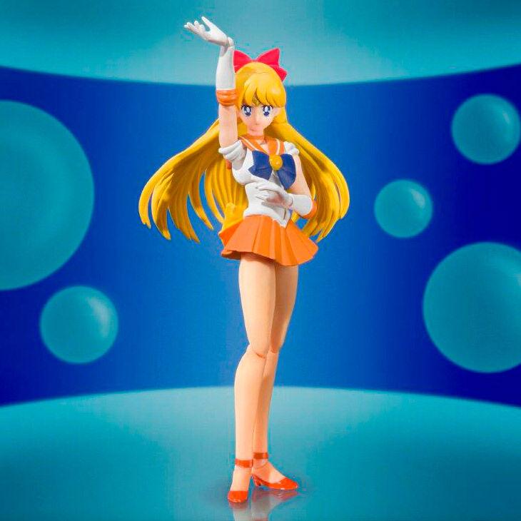 Sailor Moon S.H. Figuarts Action Figure Sailor Venus Color Edition (Tamashii Nations)