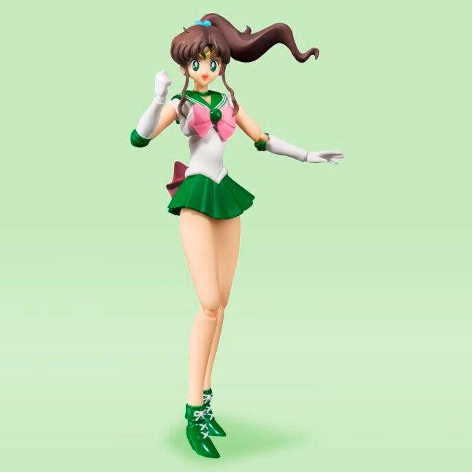 Sailor Moon S.H. Figuarts Action Figure Sailor Jupiter Color Edition (Tamashii Nations)