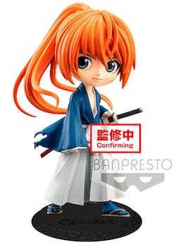 Rurouni Kenshin Q Posket Figure Kenshin Himura Battousai ver. A (Banpresto)